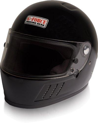 G-Force 3023XLGBK Pro Eliminator Black X-Large SA10 Full Face Racing Helmet