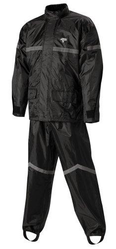 Nelson-rigg Stormrider Rain Suit (black/black, X-large)