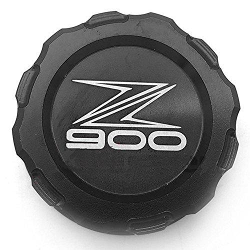 Black CNC Aluminum REAR Brake Fluid Reservoir Cap Oil Cover For Kawasaki Z900 2017