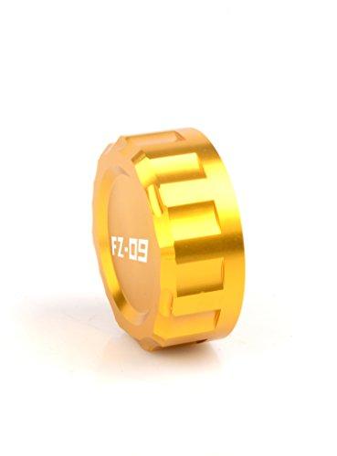 FZ09 Cylinder Reservoir CoverRear Brake Fluid Reservoir Cap Cover For Yamaha FZ-09 FZ09 2013 2014 2015 2016 Gold