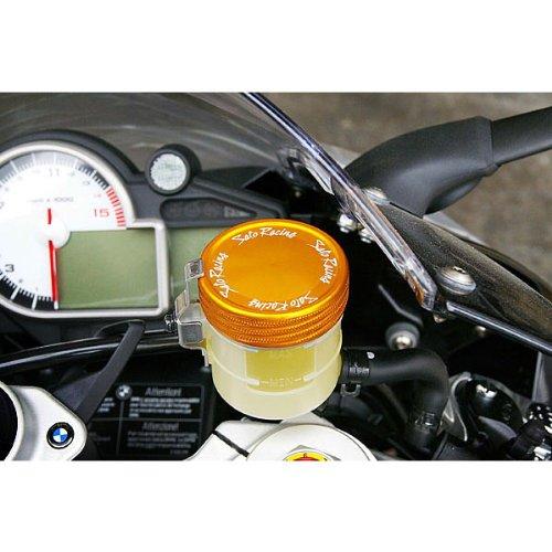 Sato Racing Billet FrontRear Brake Fluid Reservoir Cap Anodized Gold for Nissin 52mm FC-N52-G