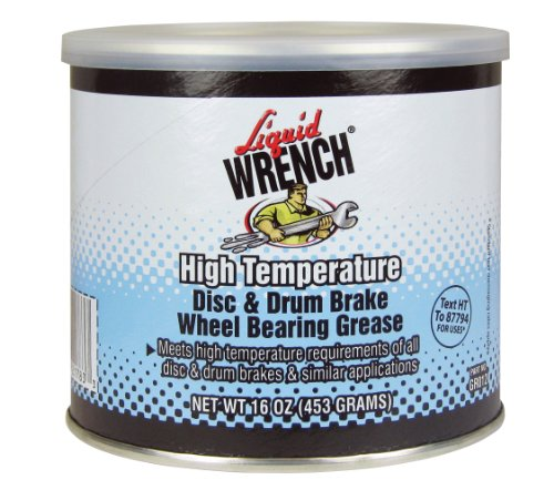 Liquid Wrench GR012 Disc and Drum Brake Wheel Bearing Grease - 16 oz