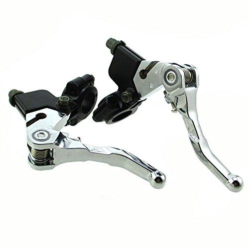 TC-Motor 78 22mm Aluminum Handle Brake Clutch Lever For Drum Brake Honda ATV ATC Scooter Moped Motorcycle Quad