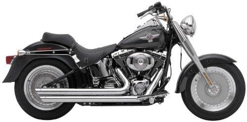 Cobra Speedster Slashdown Chrome Exhaust System for 2012 Harley Davidson Softai