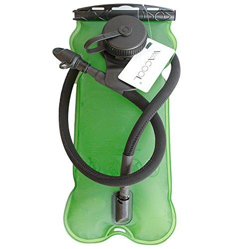 Wacool 2liter (70oz) / 3liter (100oz) Running Cycling Hiking Bpa Free Hydration Pack Bladder, Leakproof Water
