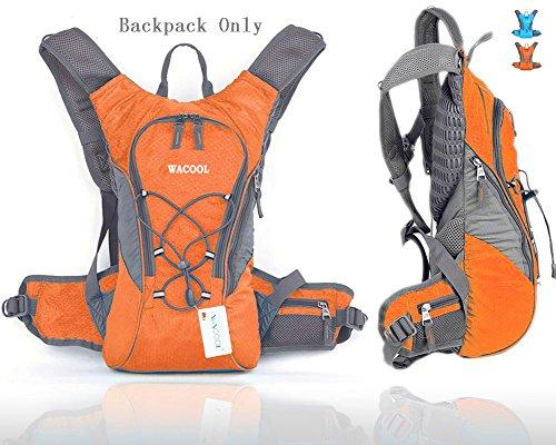 Wacool Waterproof Hydration Bladder Pack, Cycling Backpack, Hiking Lightweight Daypack