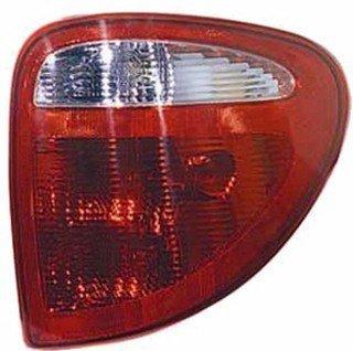 QP D7321-a Dodge Caravan Passenger Tail Light Lamp Assembly
