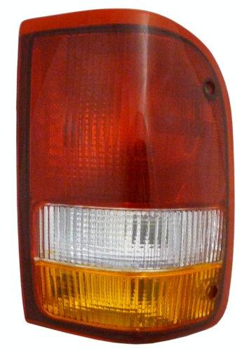 QP F1209-a Ford Ranger Passenger Tail Light Lens Housing
