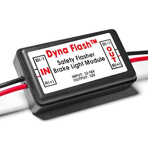 Krator Brake Taillight Flasher Rear Alert Back Off Light For Honda Rebel Fury Scrambler Custom Hawk