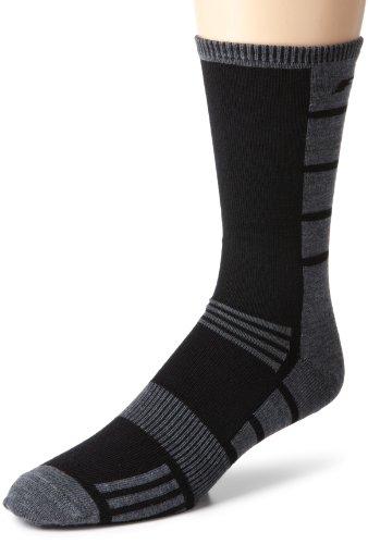 Fox Head Unisex Adult Mammoth Wool Sock Black LargeX-Large