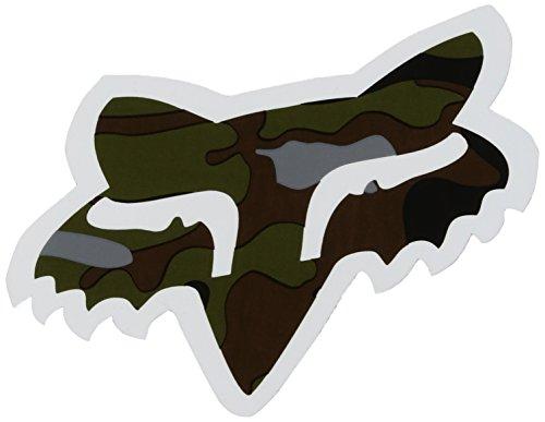 Fox Mens Fox Head - 4 Sticker Camo One Size