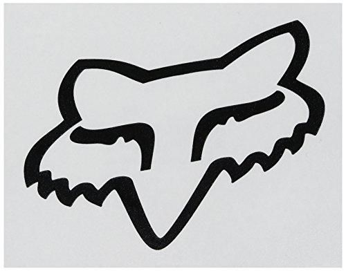 Fox Mens Fox Head Tdc - 4 Sticker black One Size