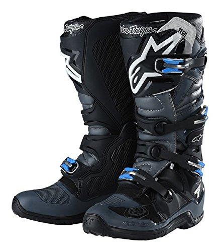 Alpinestars TLD Tech 7 Boots-BlackGray-11