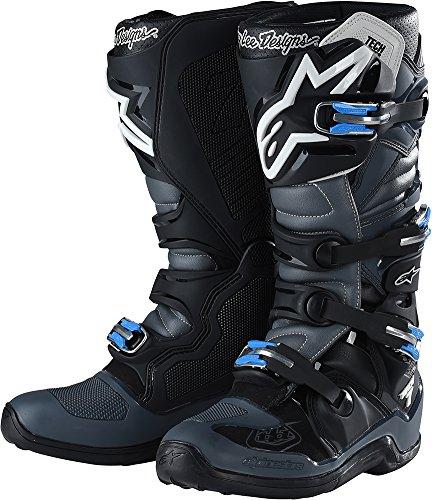 Alpinestars TLD Tech 7 Boots-BlackGray-9
