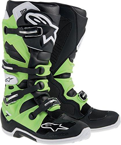 Alpinestars Tech 7 Boots - 14BlackGreen