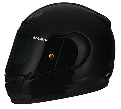 Suomy Apex Gloss Black Full Face Helmet Large
