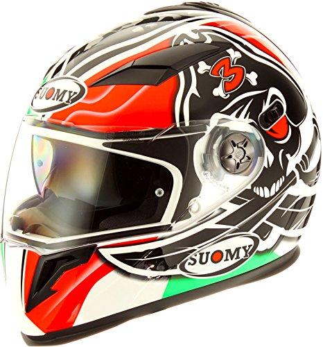 Suomy Halo Streetbike Racing Motorcycle Helmet Biaggi Replica Medium
