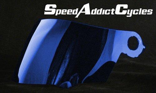Suomy Spec-1R  Extreme  Apex  Excel Blue Iridium Shield