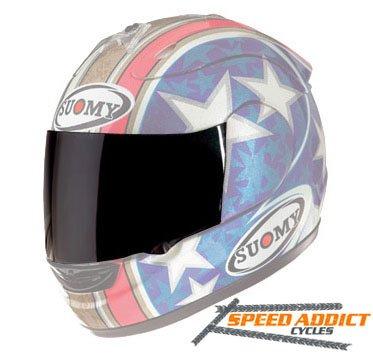 Suomy Spec-1R  Extreme  Apex  Excel Dark Smoke Shield