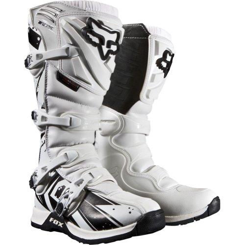Fox Racing Comp 5 Undertow Men's Motocross Motorcycle Boots - White / Size 13