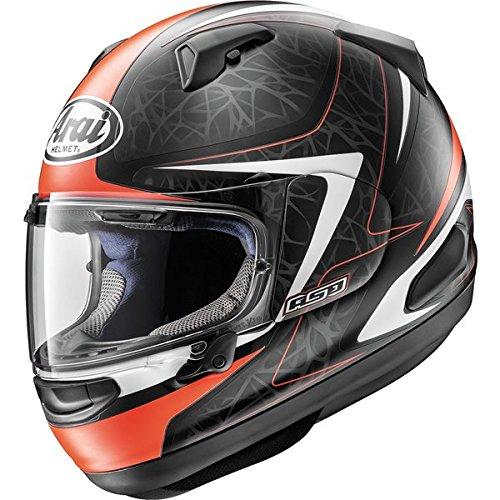Arai Quantum-X Sting Frost Red Full Face Helmet S