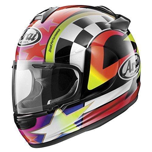 Arai Vector 2 Schwantz 95 RedPurpleWhite Full Face Helmet - Large