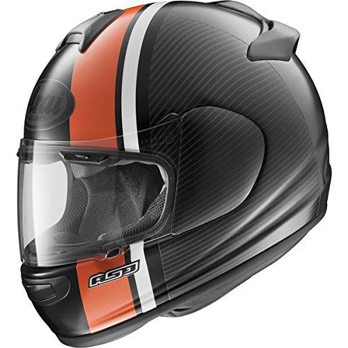 Arai Vector 2 Twist Orange Frost Full Face Helmet - Small