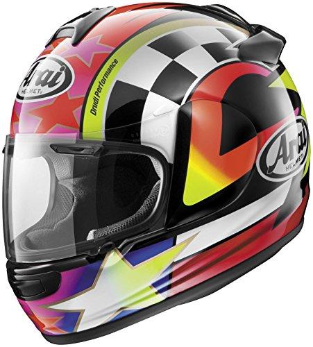Arai Vector 2 Helmet - Schwantz 95 LARGE REDPURPLEWHITE