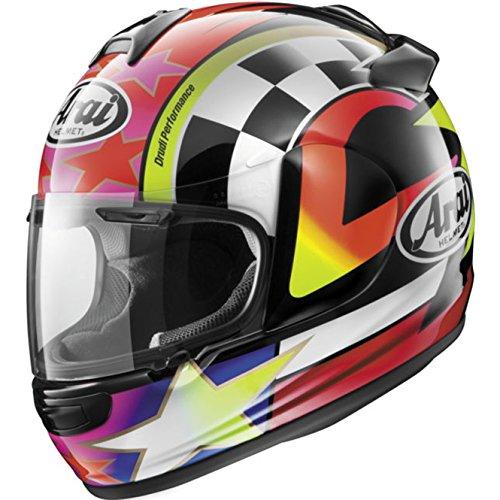 Arai Vector 2 Schwantz 95 RedPurpleWhite Full Face Helmet - X-Large