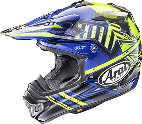 Arai VX-Pro 4 Shooting Star Blue Motocross Helmet - Medium