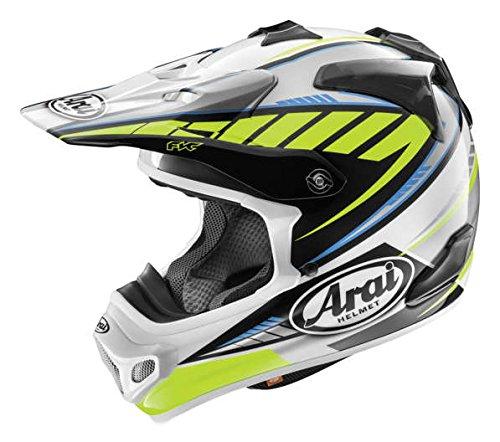 Arai VX-Pro 4 Spike Yellow Motocross Helmet - Large