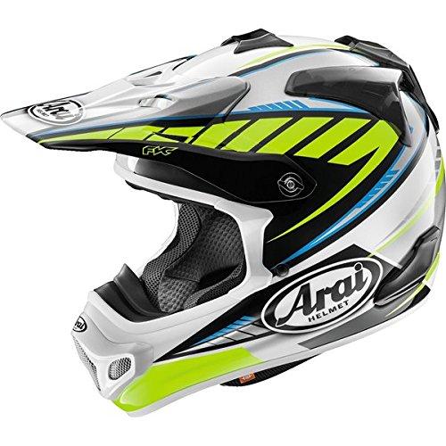 Arai VX-Pro 4 Spike Yellow Motocross Helmet - Small