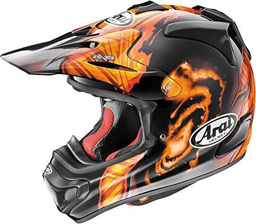 Arai VX-Pro4 Barcia Helmet-BlackOrange-S