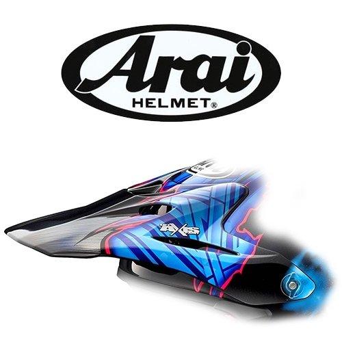 BlackBlue Arai VX-Pro 4 Barcia Replacement Helmet Visor Motorcycle Helmet Acc