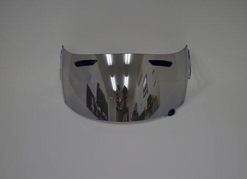 Aftermarket Product Chrome Visor Shield for ARAI RR5 RX-Q RXQ RX-7GP RX7GP