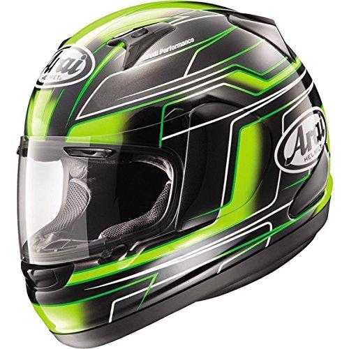 Arai RX-Q Electric Green Full Face Helmet - 2X-Large