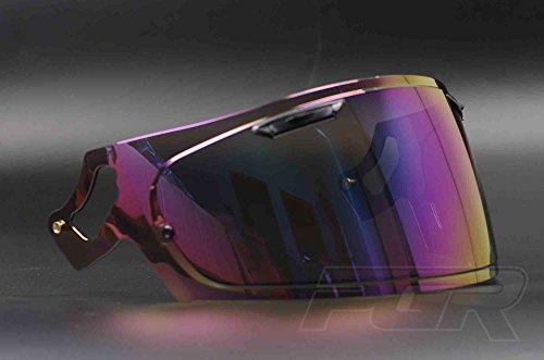 VAS-V Aftermarket Tinted Lens Face Shield Visor for Arai RX-7X CORSAIR-X RX-7V PB-SNC Helmet Iridium Mirror