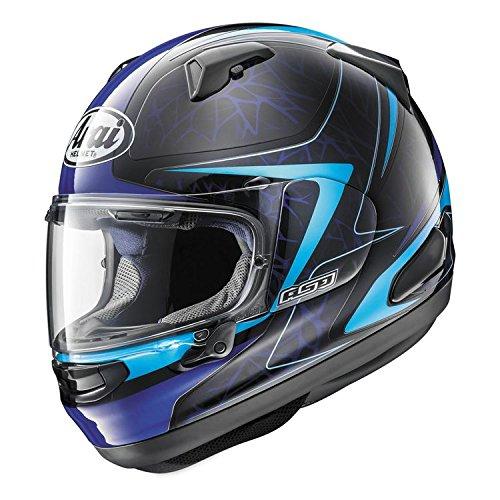ARAI QUANTUM-X Sting Blue Motorcycle Helmet XXL