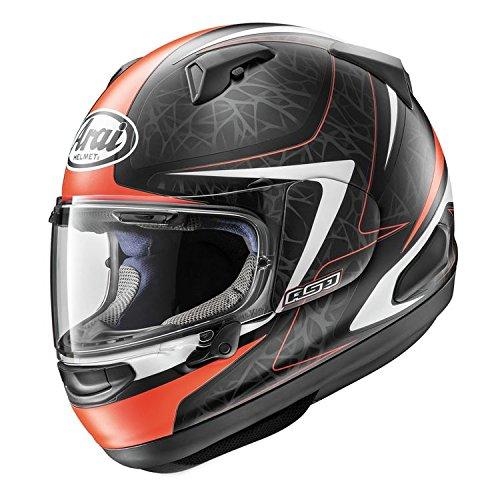 ARAI QUANTUM-X Sting Frost Red Motorcycle Helmet XXL