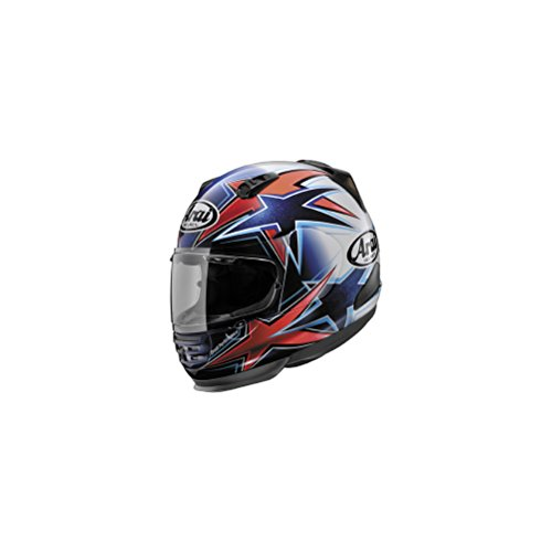 Arai Helmets Shield Cover Set for Defiant Helmet - Asteroid RedBlue 5169