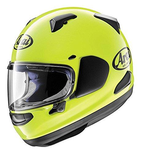 Arai Quantum-X Fluorescent Yellow Full Face Helmet S