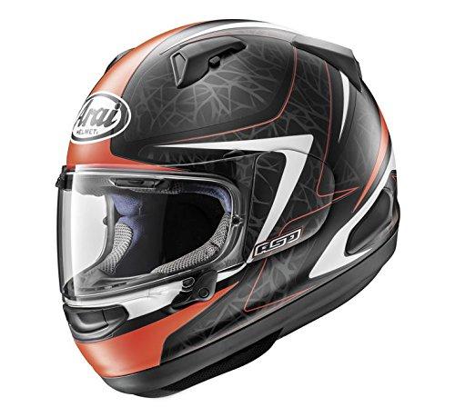 Arai Quantum-X Sting Frost Red Full Face Helmet M