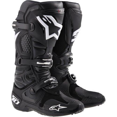 Alpinestars Tech 10 Mens Dirt Bike Motorcycle Boots - Black  Size 13