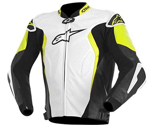 ALPINESTARS GP Tech Jacket Leather BlackYellowWhite X-Large