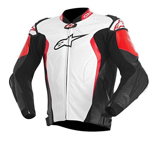 Alpinestars GP Tech Leather Jacket 50 WHITEBLACKRED