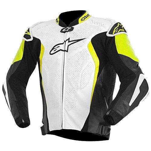 Alpinestars GP Tech Leather Jacket WHITEBLACKYELLOW