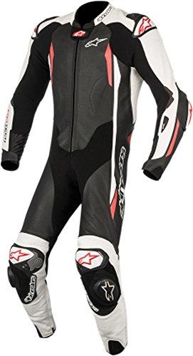 Alpinestars GP Tech Mens 1-Piece Street Race Suits - BlackWhiteRed  48