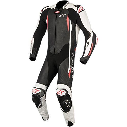 Alpinestars GP Tech Mens 1-Piece Street Race Suits - BlackWhiteRed  50