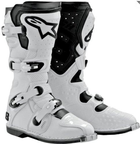 Alpinestars Tech 8 Light Vented Boots - 10White