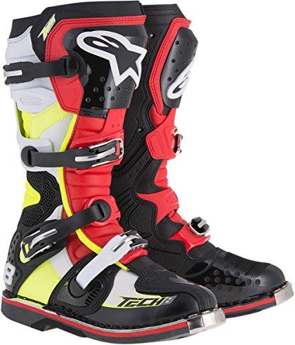 Alpinestars Tech 8 RS Boots-BlackRedYellow-14